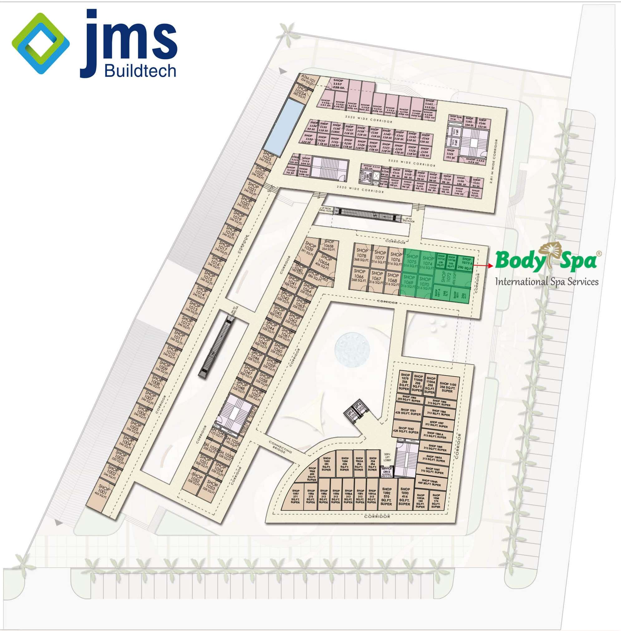Jms Crosswalk Shops in Sector-93 Gurgaon