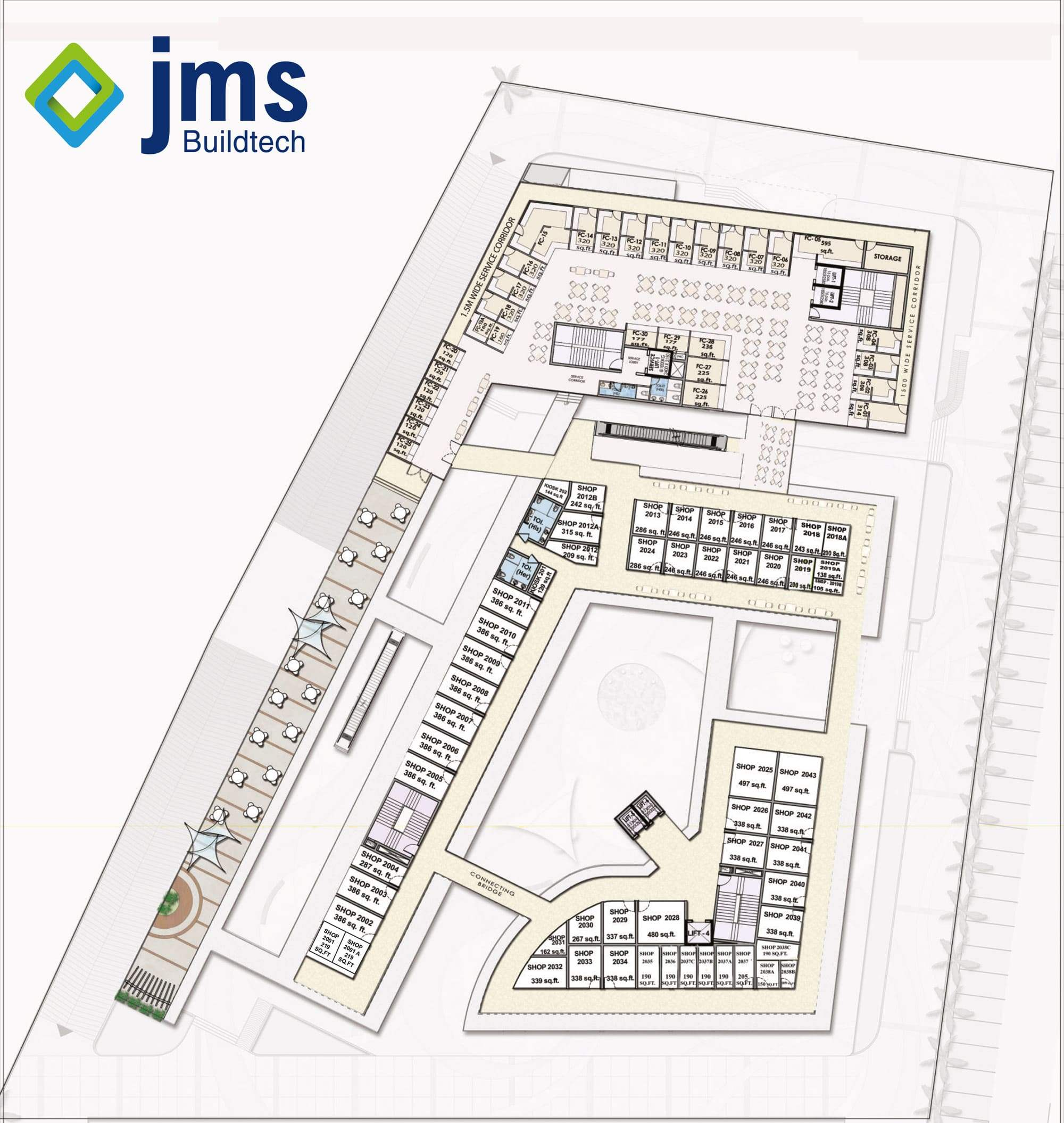 Jms Buildtech commercial project in Sector-93 Gurgaon